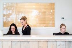 Receptionistes kliniek